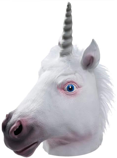 Unicorn Latex Mask