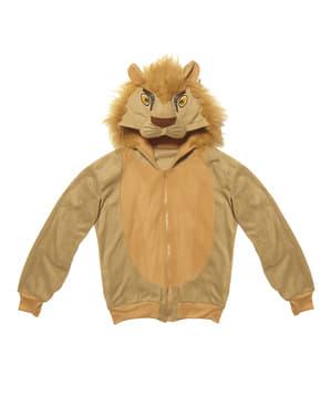 Casaco de leão para adulto