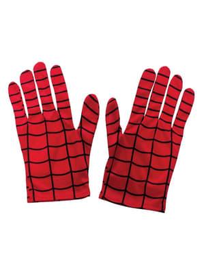 Poikien Hämähäkkimies-käsineet