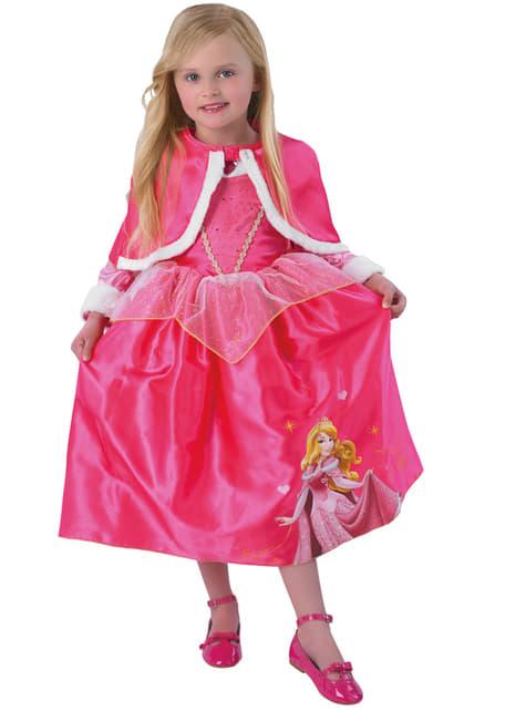 Disfraz de Aurora Winter para niña