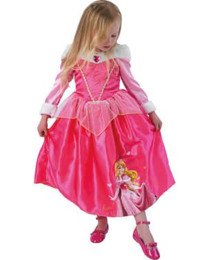Prinsessan Aurora Winter Maskeraddräkt Barn