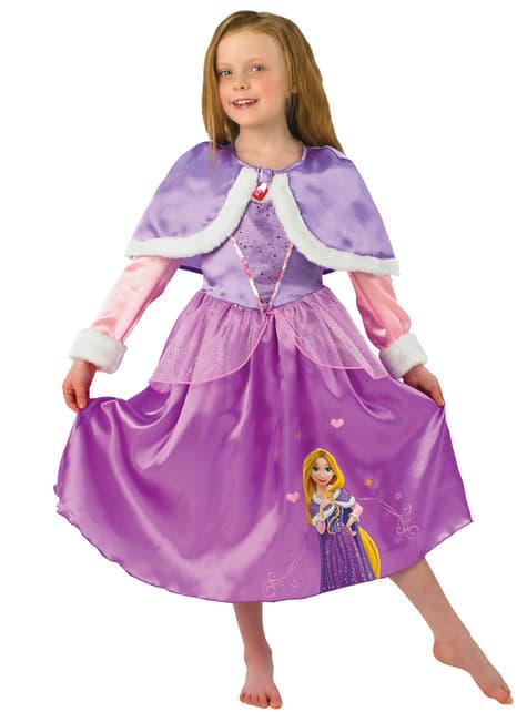Girls Rapunzel Winter Costume