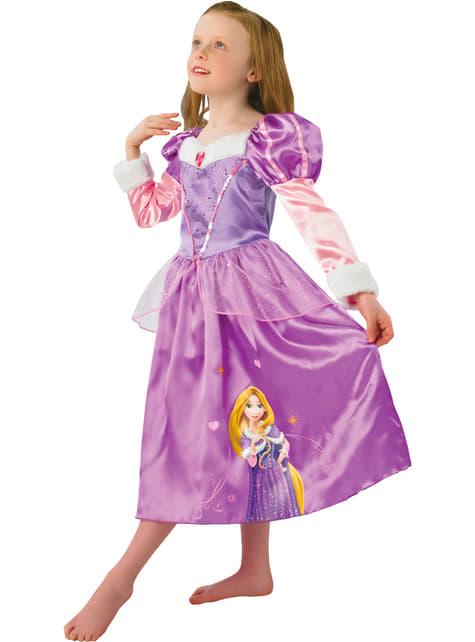 Disfraz de Rapunzel Winter para niña - niña