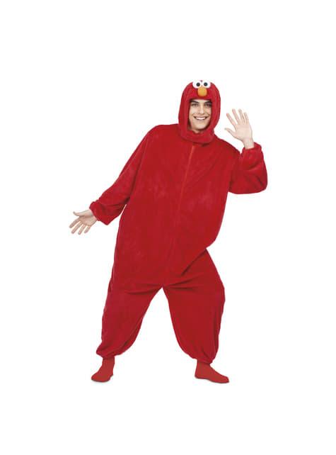 Sesame Street Elmo Heldragt kostume til voksne