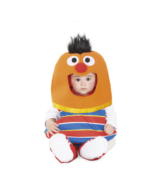 "Бебешки костюм балон на Ърни– ""Улица Сезам"""