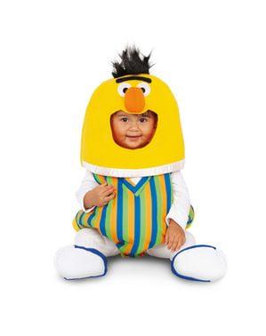 Sesamstraat Bert ballon kostuum voor baby' s