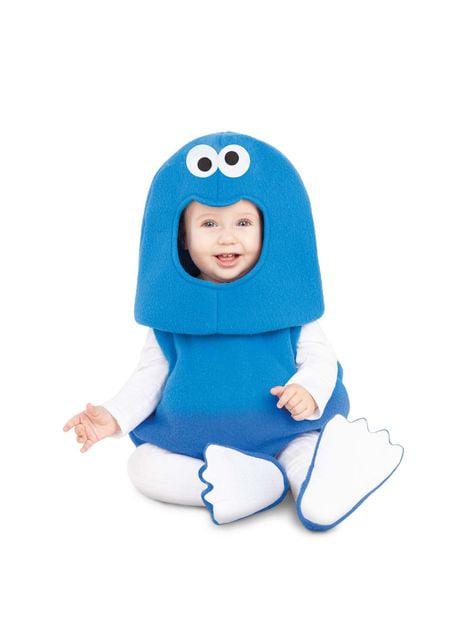 Sesame Street Cookie Monster Balloon Costume for Babies