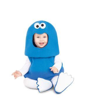 Costum Cookie Monster Sesame Street balloon pentru bebeluși