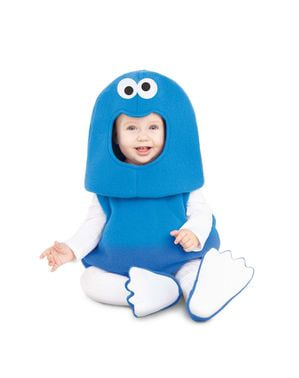 Sesame Street Cookie Monster Balloon kostume til babyer