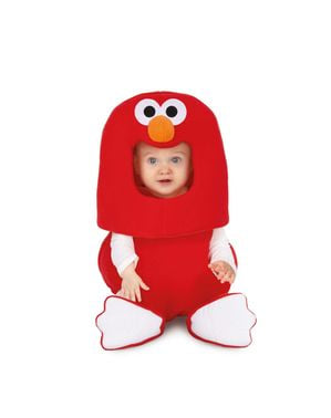 Kostým pro miminka Sezamová ulice Elmo balón