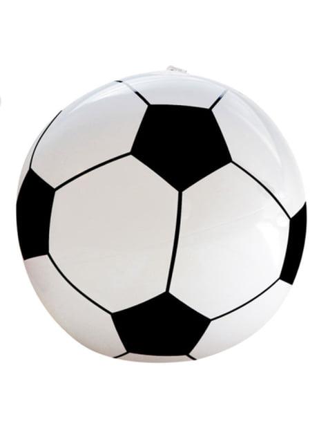 Balón de fútbol hinchable