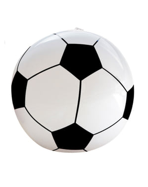 Ballon de football gonflable