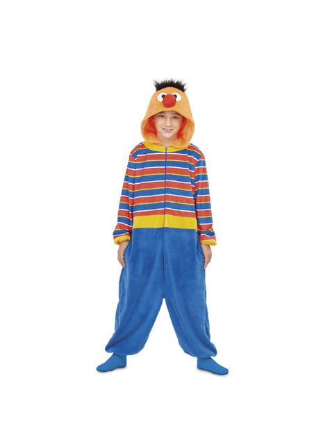 Déguisement Ernest Sesame Street onesie enfant