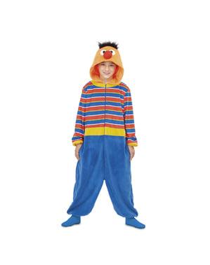 Ernie Sesamstraße Onesie Kostüm für Kinder