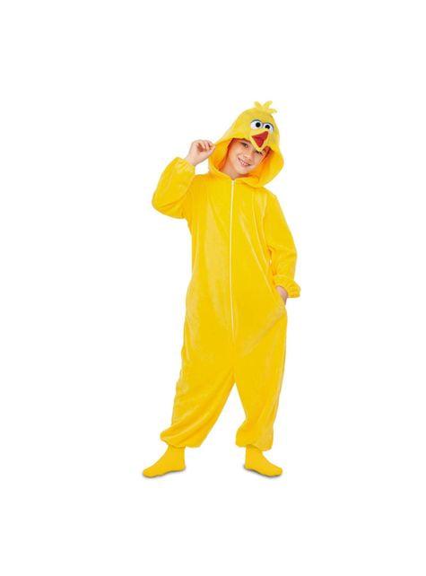 Kostium onesie Wielki Ptak Ulica Sezamkowa dla dzieci