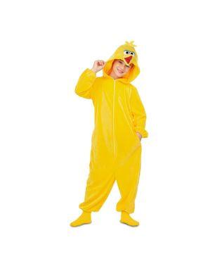Sesam Big Bird Onesie maskeraddräkt för barn