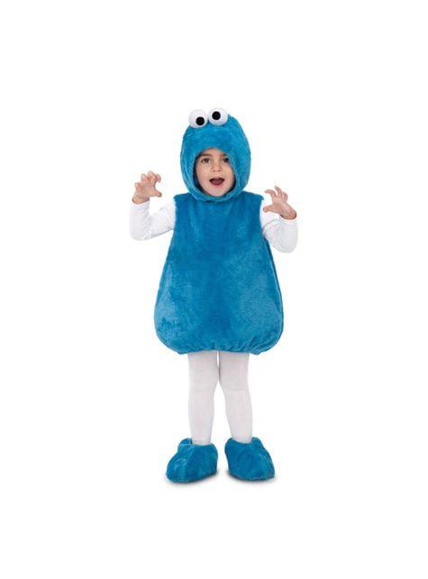 Kostium Ciasteczkowy Potwór Ulica Sezamkowa dla dzieci