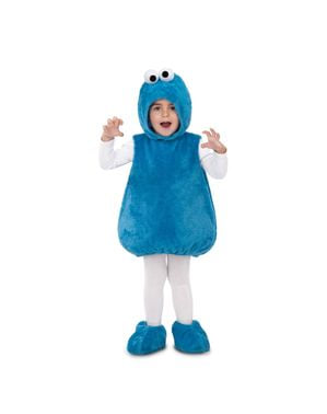 Krümelmonster Sesamstraße Kostüm für Kinder