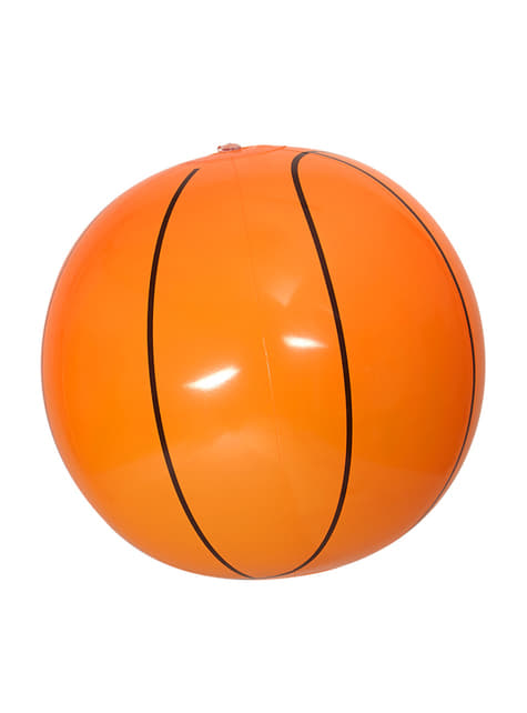 Ballon de basket gonflable