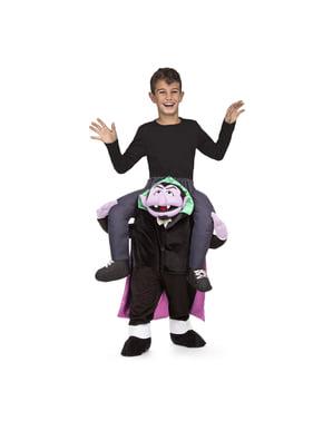 Piggyback Count von Count Sezam kostým pre deti