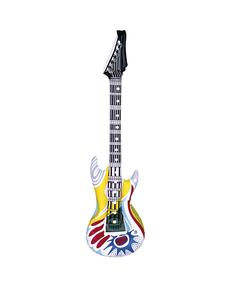 Guitarra rockera hinchable