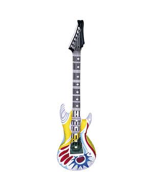 Oppustelig rockguitar