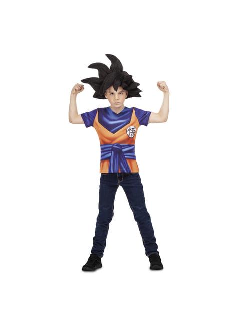 Camiseta de Goku Dragon Ball para niño