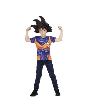 T-shirt SanGoku Dragon Ball garçon