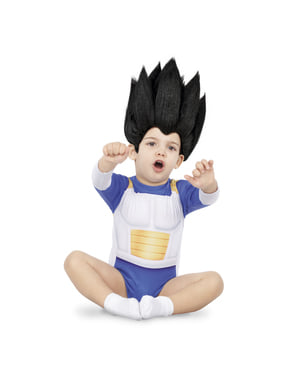 Costume di Vegeta Dragon Ball per neonato