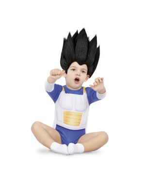 Vegeta Dragon Ball kostyme til babyer
