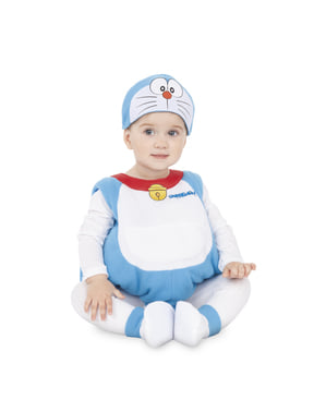 Doraemon kostuum voor baby' s