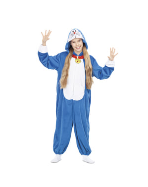 Costum Doraemon onesie pentru copii