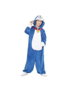 Fato Doraemon macacão infantil
