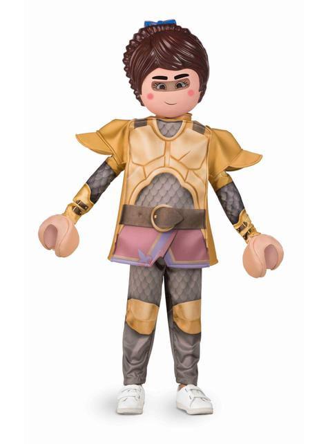 Disfraz de Marla Playmobil para niña