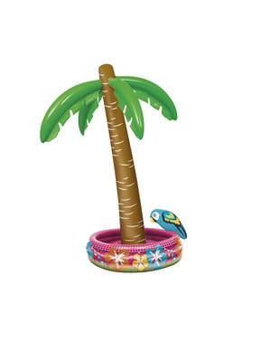Palmeira insuflável com papagaio