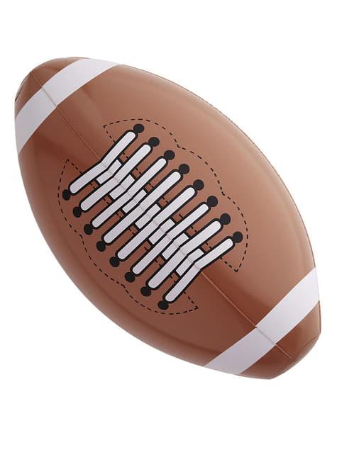 Bola de futebol americano insuflável