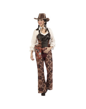 Kostým pro ženy kovbojka banditka