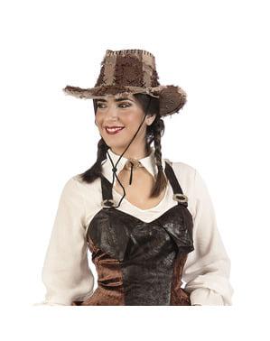 Fato de bandida vaqueira para mulher