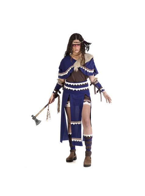 Disfraz de india guerrera para mujer