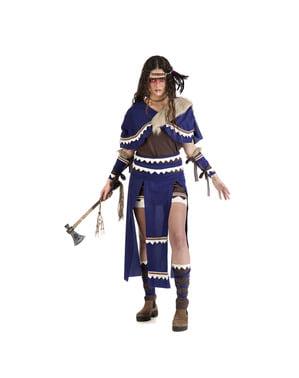 Costum de indiancă războinică pentru femeie