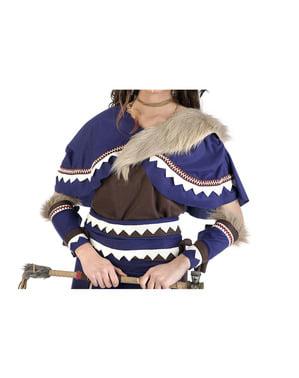 女性用インディアンの戦士衣装