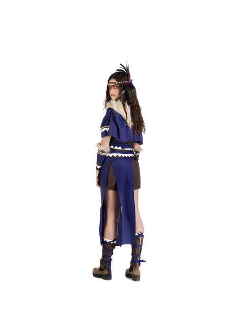 Disfraz de india guerrera para mujer - original
