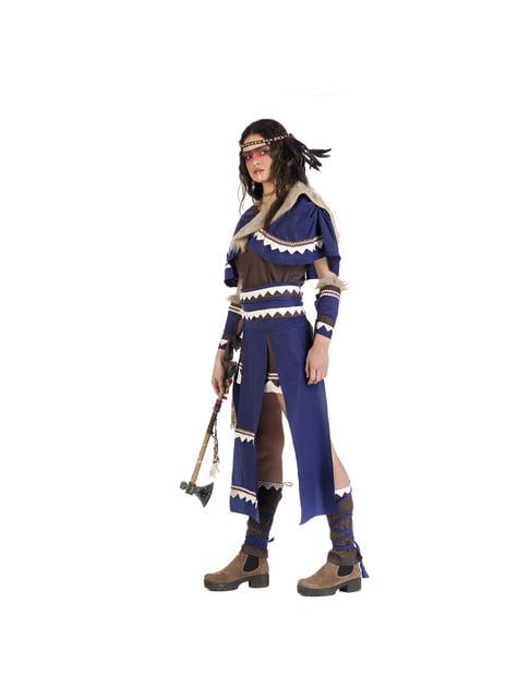 Disfraz de india guerrera para mujer - traje