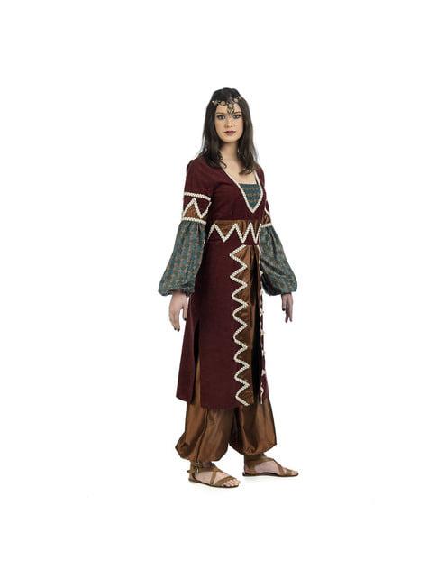 Fato de princesa árabe elegante para mulher - disfarce