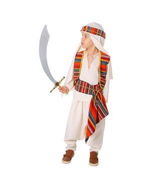 Arabisk Emir kostume til drenge
