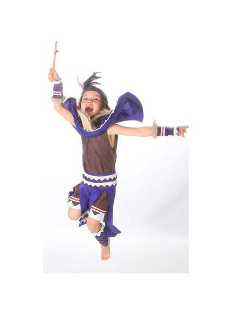 Disfraz de india guerrera para niña - niña