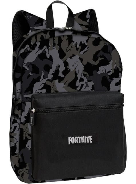 Fortnite backpack in black measuring 42 cm