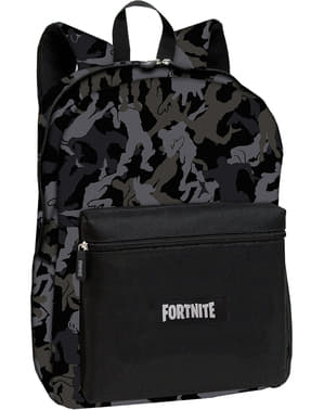Fortnite backpack in black measuring 42 cm