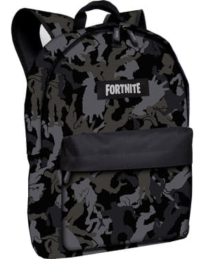 Fortnite backpack in black measuring 44 cm