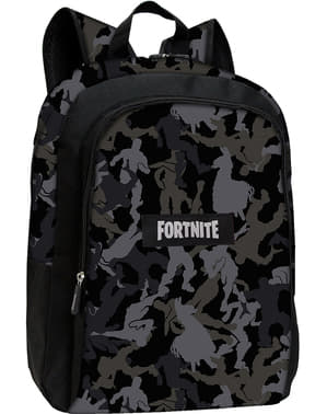Fortnite backpack in black measuring 43 cm
